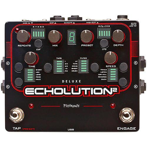 Pigtronix Echolution 2 Deluxe Guitar Effects Pedal-thumbnail