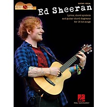 Hal Leonard Ed Sheeran - Strum & Sing Strum and Sing Series Softcover Performed by Ed Sheeran