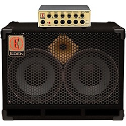 Eden WTX500 Bass Amp Head Gold with D210XST 2x10 Cab 4 ohm (WTX500_D210XST4)