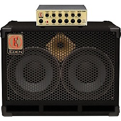 Eden WTX500 and D210XST Bass Stack (WTX500-D210XST4)