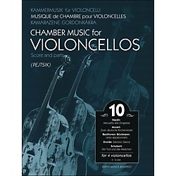 Editio Musica Budapest Chamber Music For Violoncellos Volume 10 Score And Parts (For 4 Cellos) (50490049)