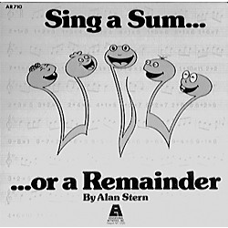 Educational Activities Sing A Sum...Or A Remainder (CD 709)