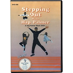Educational Activities Stepping Out with Hap Palmer Video (DVD058)