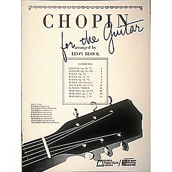 Edward B. Marks Music Company Chopin for Guitar Book (6336)