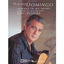 Edward B. Marks Music Company Placido Domingo Always in My Heart Piano, Vocal, Guitar Songbook Collection (740071)