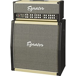 Egnater Tourmaster 4100 Guitar Amp Head and Tourmaster 412A 280W 4x12 Guitar Extension Cabinet (KIT797168)