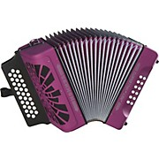 Hohner El Rey Del Vallenato GCF Accordion
