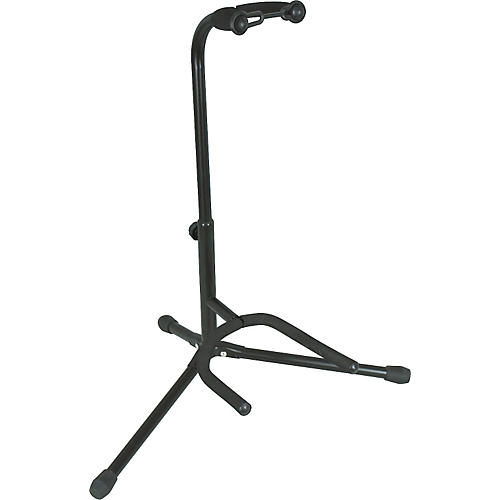 Musician's Gear Electric, Acoustic and Bass Guitar Stand Black-thumbnail
