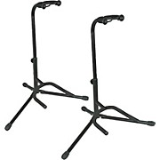 Musician's Gear Electric, Acoustic and Bass Guitar Stands (2-Pack)