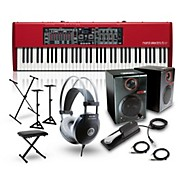 Nord Electro 5 HP with RPM3 Monitors, Headphones, Bench, Stand, and Sustain Pedal
