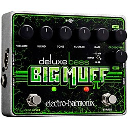 Electro-Harmonix Deluxe Bass Big Muff PI Distortion Effects Pedal (DELUXE BASS BIG MUFF PI)
