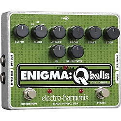 Electro-Harmonix Enigma Qballs Envelope Filter Bass Effects Pedal (ENIGMAFILTER)