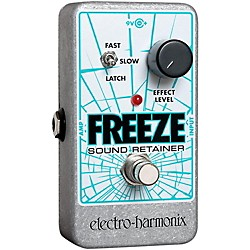 Electro-Harmonix Freeze Sound Retainer Compression Guitar Effects Pedal (FREEZESOUND)