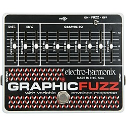 Electro-Harmonix Graphic Fuzz XO Fuzz Guitar Effects Pedal (GRAPHICFUZZXO)