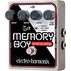 Electro-Harmonix Memory Boy Delay Guitar Effects Pedal (MEMORYBOY)