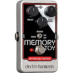 Electro-Harmonix Memory Toy Analog Echo and Chorus Guitar Effects Pedal (MEMORYTOY)