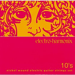 Electro-Harmonix NIC10 Nickel Wound Light Electric Guitar Strings (NIC10)