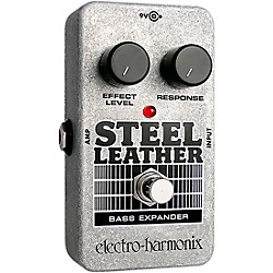 Electro-Harmonix Nano Steel Leather Bass Expander Effect Pedal (NANOSTEELLEATHER)