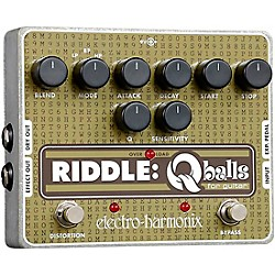 Electro-Harmonix Riddle Envelope Filter Guitar Effects Pedal (RIDDLEFILTER)