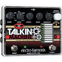 Electro-Harmonix Stereo Talking Machine Vocal Formant Filter Guitar Effects Pedal (STEREOTALKINGMACHINE)