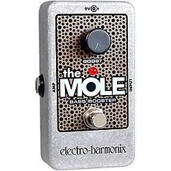 Electro-Harmonix The Mole Bass Booster Effects Pedal (THEMOLE)