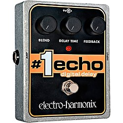 Electro-Harmonix XO #1 Echo Digital Delay Guitar Effects Pedal (XO-1ECHO)