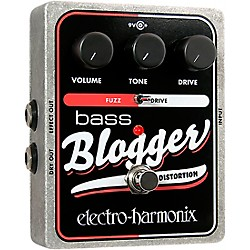 Electro-Harmonix XO Bass Blogger Distortion Effects Pedal (XOBASSBLOGGER)