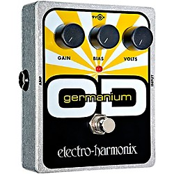 Electro-Harmonix XO Germanium OD Overdrive Guitar Effects Pedal (XOGERMANIUMOVERDRIVE)
