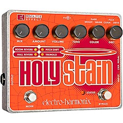 Electro-Harmonix XO Holy Stain Guitar Multi Effects Pedal (XOHOLYSTAIN)