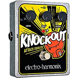 Electro-Harmonix XO Knockout Attack Equalizer Guitar Effects Pedal (XOKNOCKOUT)
