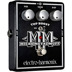 Electro-Harmonix XO Micro Metal Muff Distortion Guitar Effects Pedal (XOMICROMETALMUFF)