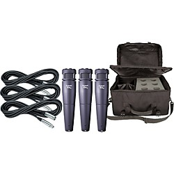 Electro-Voice Cobalt 4 Three Pack with Cables & Bag (KIT875080)