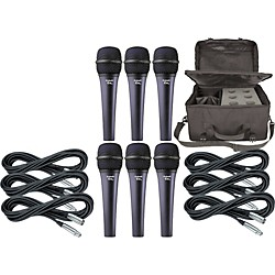 Electro-Voice Cobalt 7 Six Pack with Cables & Bag (KIT875069)