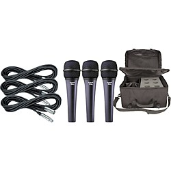 Electro-Voice Cobalt 7 Three Pack with Cables & Bag (KIT875045)