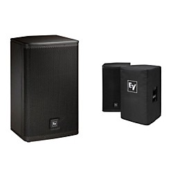 "Electro-Voice ELX112P Active 12"" Loudspeaker  and Cover Kit (ELX112P Kit)"