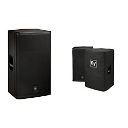 "Electro-Voice ELX115P Active 15"" Loudspeaker and Cover Kit (ELX115P Kit)"