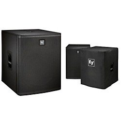 "Electro-Voice ELX118P Active 18"" Subwoofer and Cover Kit (ELX118P Kit)"