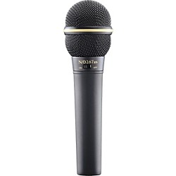 Electro-Voice N D267AS Dynamic Microphone with On Off Switch (F.01U.167.775)
