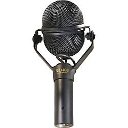 Electro-Voice N/D468 Dynamic Supercardioid Instrument Microphone (F.01U.167.777)