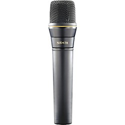Electro-Voice N/D478 Cardioid Dynamic Instrument Microphone (F.01U.167.778)