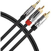 Livewire Elite Interconnect Y-Cable 3.5 mm TRS Male to RCA Male