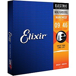 Elixir Custom Light Nanoweb Electric Guitar Strings 2-Pack (12027 - 2 Pack)