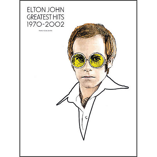 Hal Leonard Elton John - Greatest Hits 1970-2002 Piano, Vocal, Guitar Songbook-thumbnail