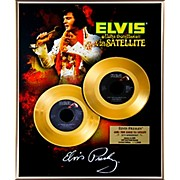 24 Kt. Gold Records Elvis Presley - Aloha From Hawaii 35th Anniversary Gold 45 Limited Edition of 2008
