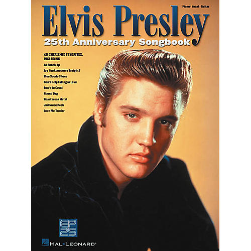 Hal Leonard Elvis Presley 25th Anniversary Piano, Vocal, Guitar Songbook-thumbnail