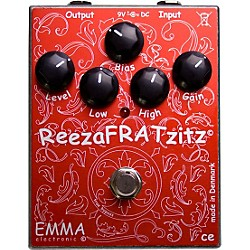 Emma Electronic ReezaFRATZzitz II Overdrive and Distortion Guitar Effects Pedal (RF-2)