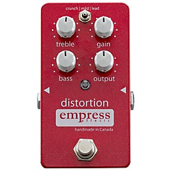 Empress Effects Analog Distortion Guitar Effects Pedal (Distortion)