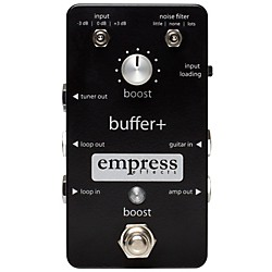 Empress Effects Buffer+ Analog I/O Interface Guitar Pedal with Switchable Boost (Buffer+)
