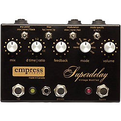 Empress Effects Superdelay Digital Delay Guitar Effects Pedal (VMSD)