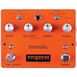Empress Effects Tremolo2 Tremolo Guitar Effects Pedal (Tremolo2)